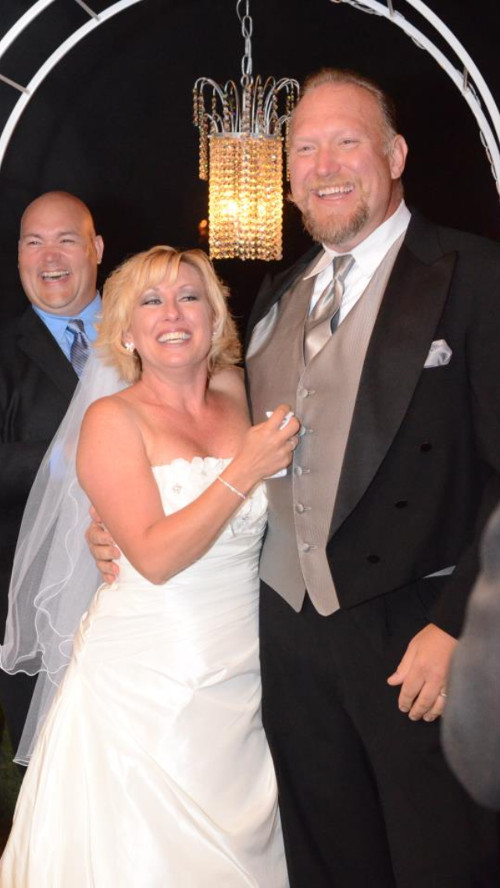 August and Kym Cederstrand wed on 10/6/2012 at Wonderland Ranch, Northridge California